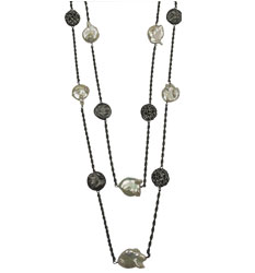"""Necklace from """"Moneta"""" collection"""